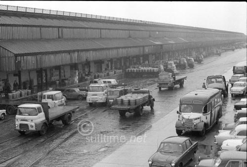 Image result for b & w photo of HGV transport Depot Salford